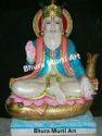 Jhulelal Marble Statue