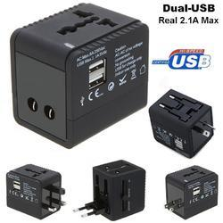 Universal Travel Adapter With 2 USB