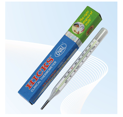 Clinical Thermometers Hicks Oval (O-01)