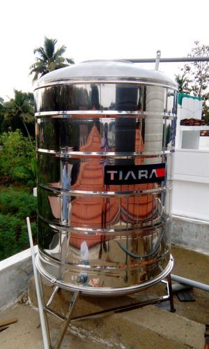 Ss304 Tiara 1000l Stainless Steel Water Tank Rs 36200 Piece Nexteel Industries Id 15646365462