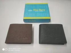 Brown Blue barry wallet