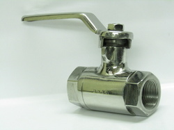 SS Manual Operated BSP End Ball Valve