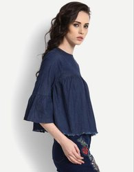 Labrie 3/4th Sleeve Plain Top