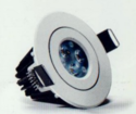 6w White Clear LED Downlight