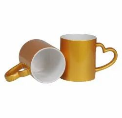 Sublimation 11oz Golden Mug
