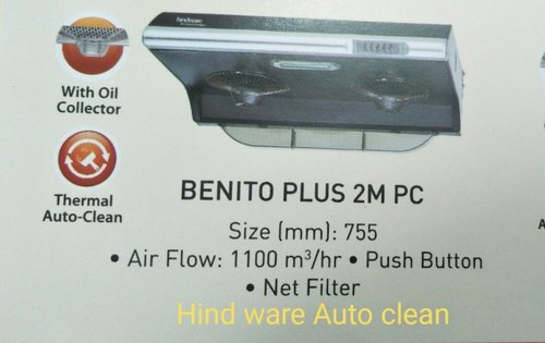 Air Flow 1100 Hindware Benito Plus 2m Pc Chimney Size