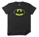Black White Women Batman Logo Casual T-shirt