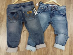 Narrow fitting Mens Stretchable Denim Jeans