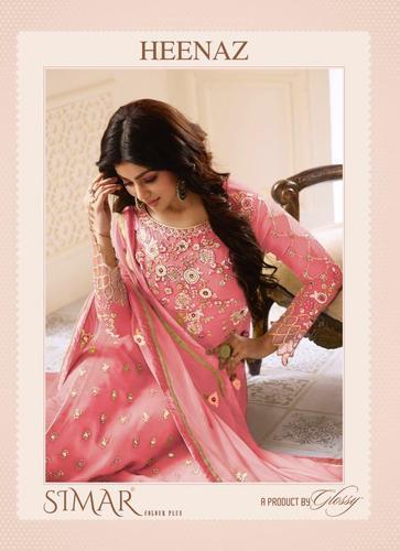 74e74b36e3 Bridal Salwar Kameez - Mrigni Vol-4 Series 4001-4008 Stylish Party Wear  Pashmina Suit Manufacturer from Surat
