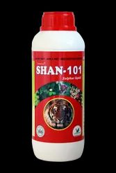 Shan-101 Liquid Sulphur, For Agricultural, Pack Type: Bottle