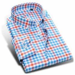 Cotton Readymade Check Shirt
