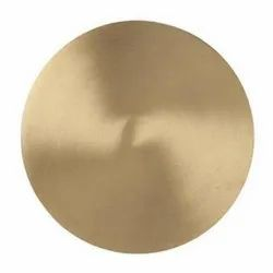 Gold Round Brass Circle, Size: 1-9inch Dia, Thickness: 0.3 To 50mm