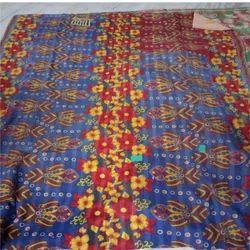 Flower Design Vintage Kantha Quilt