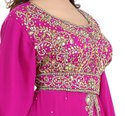 Ladies Abaya Maxi Dress Robe Jalabiya