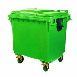 Four Wheel Plastic Dustbin