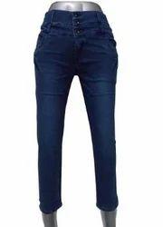 Women Royal Blue Jeans