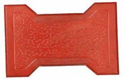 0.27 Square Feet Red Designer Pavers