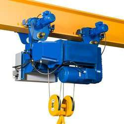 5Ton Wire Rope Hoist with central trolley