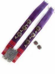 FJ027 Fabric Jewelry