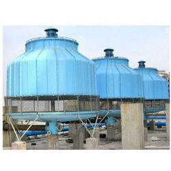 FRP Induced Draft Cooling Tower
