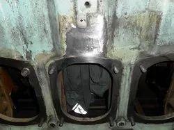 Cold Metal Stitching Of Cast Iron, Aluminium And Bronze Casting