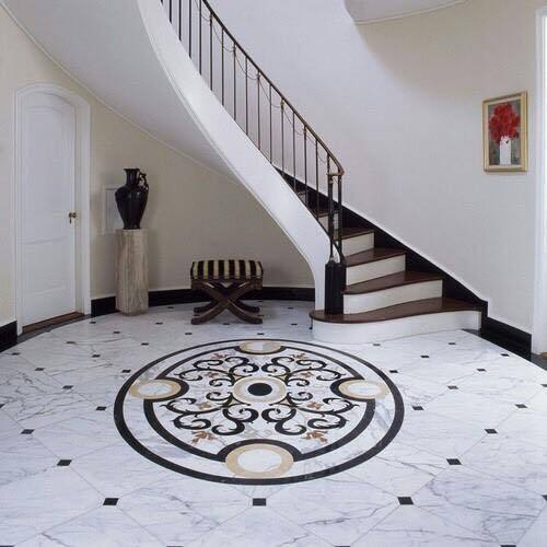 Inlay Floor Design at Rs 2250 /square feet | Floor Design - Marble ...