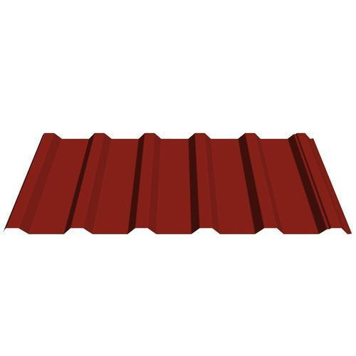 Brick Red Colour Coated Roofing Sheet