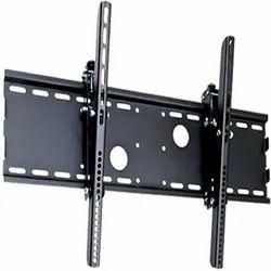 Radhe Krishna Black LCD TV Stand, For Home