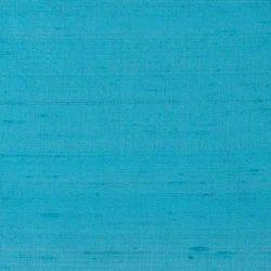 Blue Plain Dupion Silk fabric