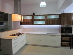 Wel Design Wooden Kitchen Cabinets