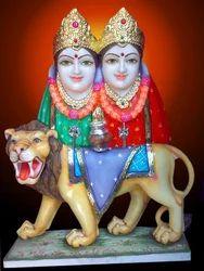 Chamunda Mata Marble Statue