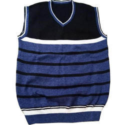 V Neck Sleeveless School Sweater