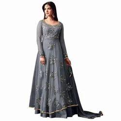 Stitched Plain Ladies Gown