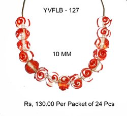 Lampwork Fancy Glass Beads - YVFLB-127