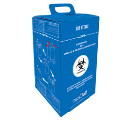 Sharps Disposal Safety Box