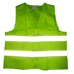 v4you Net Green Reflective Jacket for Auto Racing