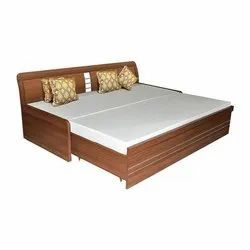 Modern Wooden Sofa Cum Bed, for Home