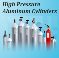 High Pressure Aluminum Gas Cylinders