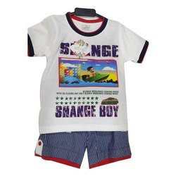 29ee54225a38 Cotton Casual Wear Kids Half Sleeves Baba Suit