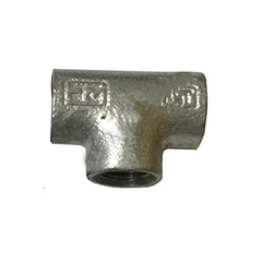 Galvanized Iron Pipe Tee
