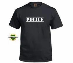 Police Black Tshirt