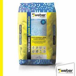 Weber Set Glass Mosaic Improved Tile Adhesive