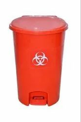 Red Pedal Dustbin