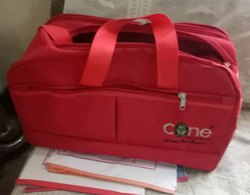 Casing Soft Red Travelling Bags