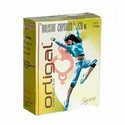 Orligal Orlistat Capsules, For Hospital, Packaging Type: Box