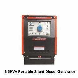 8.5kVA Portable Silent Diesel Generator, Voltage: 220-240 V