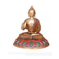 Lord Gautama Buddha Statue brass