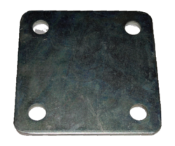 Floor Post Mounting Plate