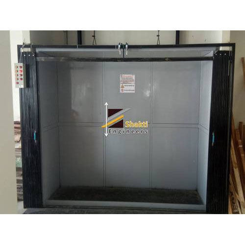 Mild Steel Showroom Goods Lift, Capacity: 1 To 10 Ton And Above