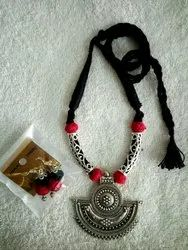 Red And Black Handmade Jewellery